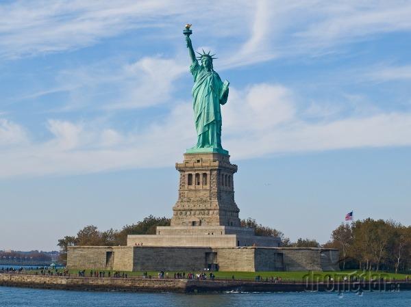 Socha slobody, New York