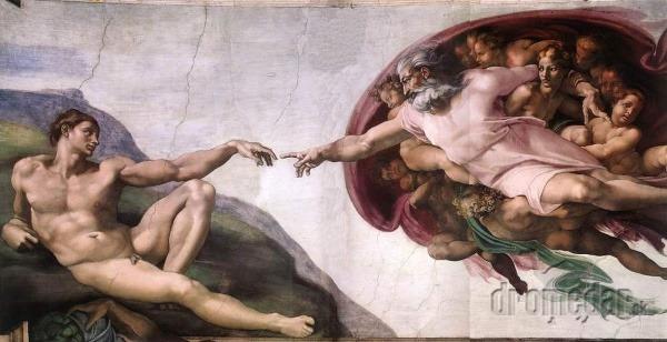Sixtínska kaplnka, Michelangelo -
