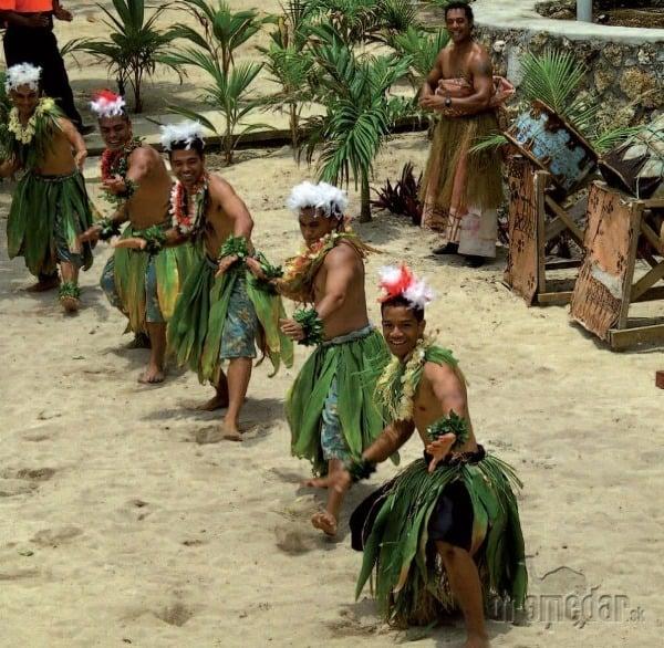 Pre Tongu je typická