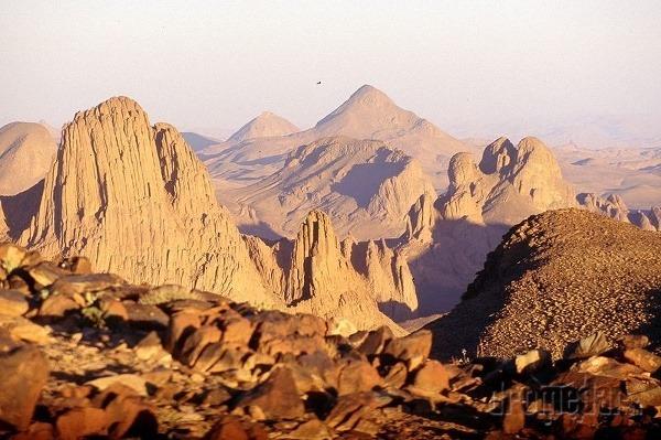 púšť Sahara, Afrika