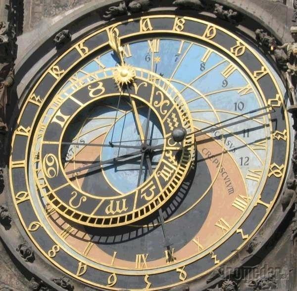 Orloj, Praha, Česká republika