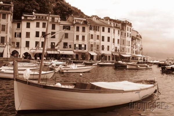 Taliansko - prístav Portofino