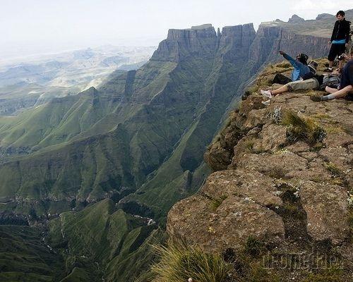 Dračie vrchy, Južná Afrika