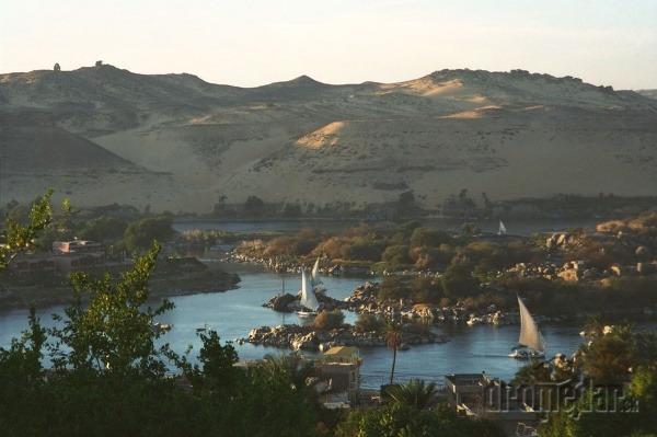 rieka Níl, Afrika