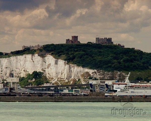 Biele útesy Doveru, Anglicko