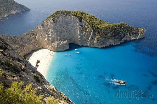 Navagio Beach, Zakynthos, Grécko