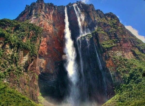 Anjelské vodopády, Venezuela