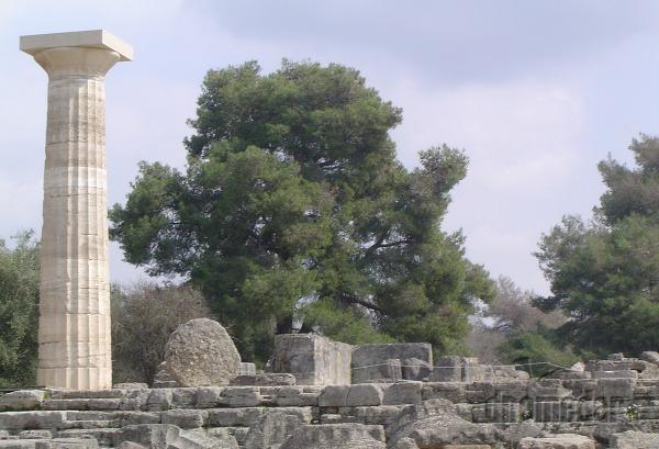 Olympia, Diov chrám