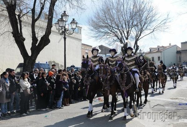 karneval Sartiglia, Sardínia, Taliansko