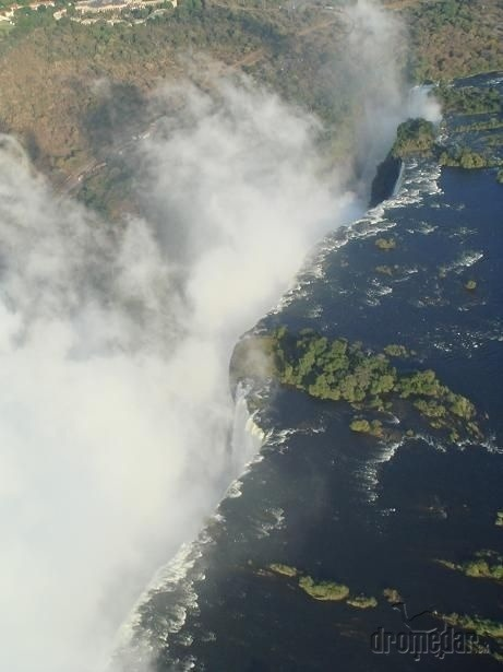 Viktóriine vodopády, Zimbabwe