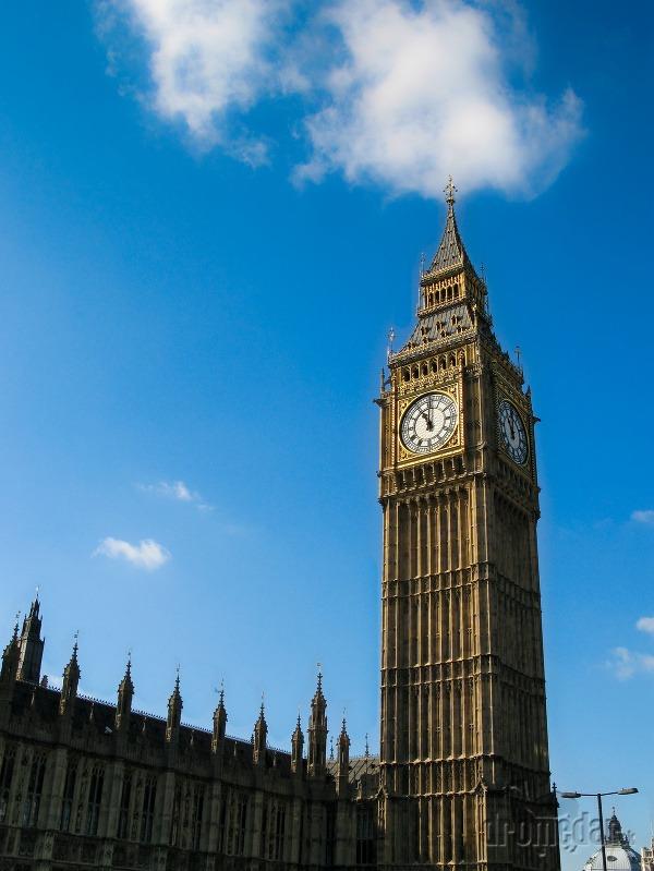 Big Ben,Westminsterský palác