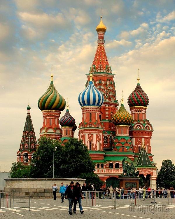 Chrám Vasilija Blaženého, Moskva