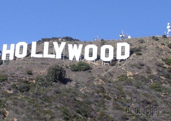 Nápis Hollywood, LA