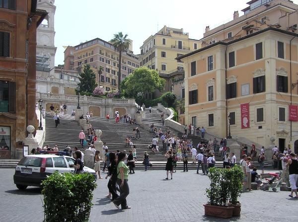 Španielske schody, Rím