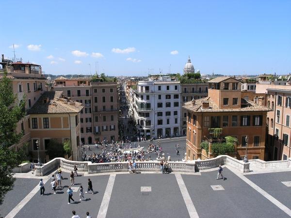 Piazza di Spagna, Rím