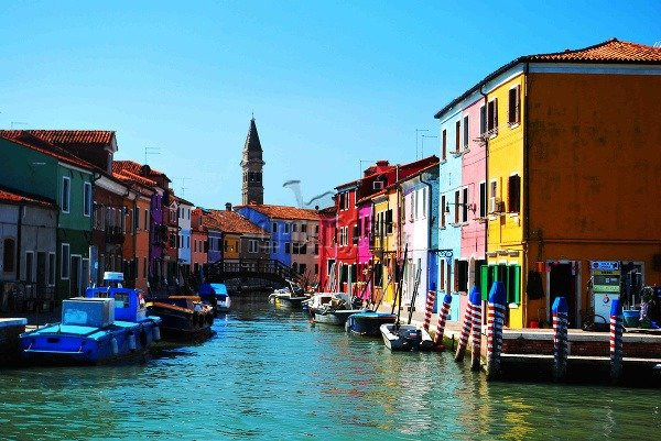Ostrov Burano, Taliansko