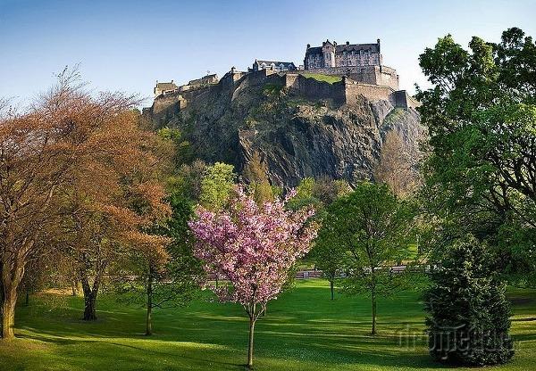 Edinburgh Castle, Škótsko, Veľká