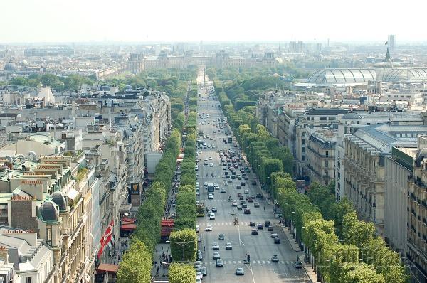 Champs- Élysées, Paríž