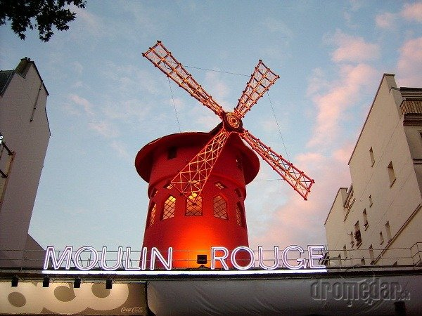 Moulin Rouge, Paríž