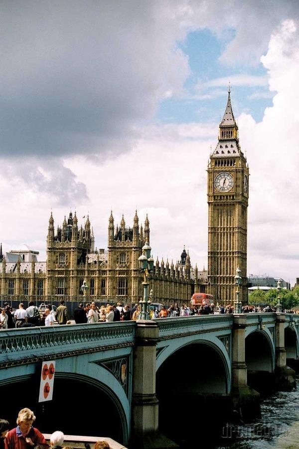 Big Ben a parlament,