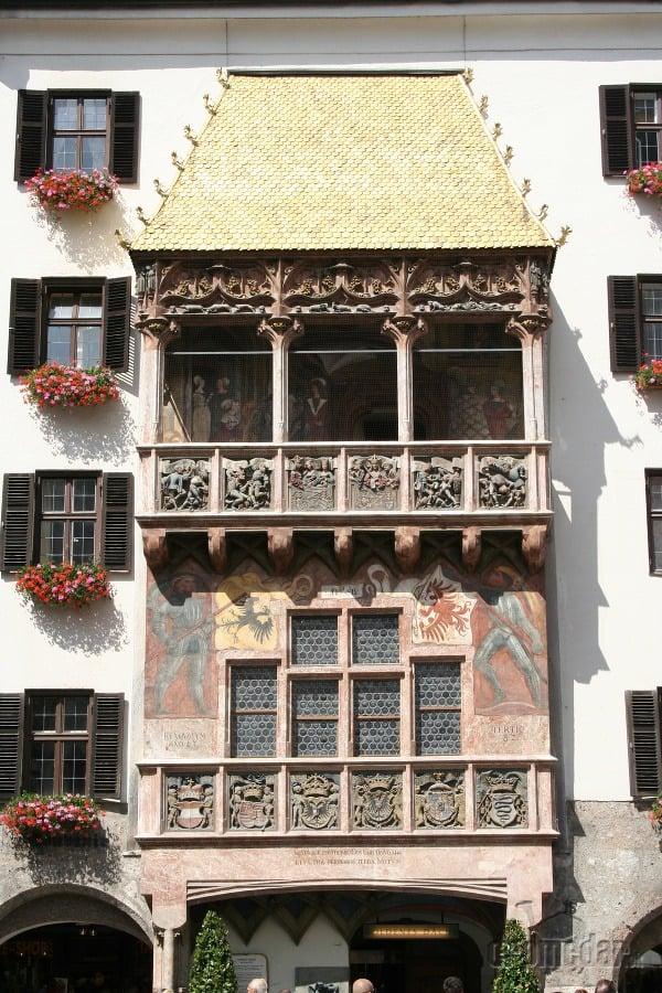 Zlatá strecha, Innsbruck, Rakúsko