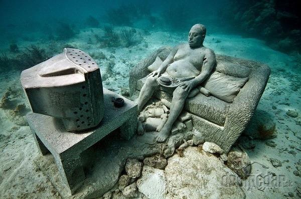 podmorské múzeum v Granade,