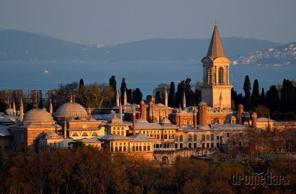 palác Topkapi, Istanbul, Turecko