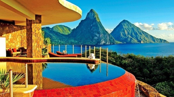 Na ostrove Svätá Lucia