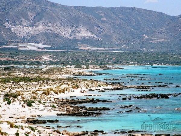 Elafonisi, Kréta, Grécko