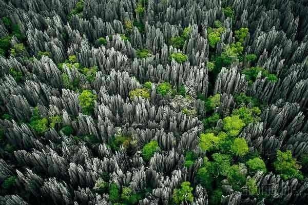 skalný labyrint, Madagaskar