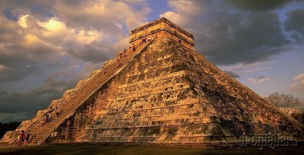 V Chichén Itzá na