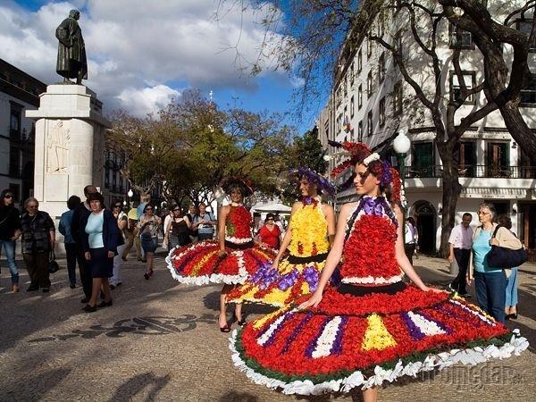 Festival kvetov, Madeira, Portugalsko