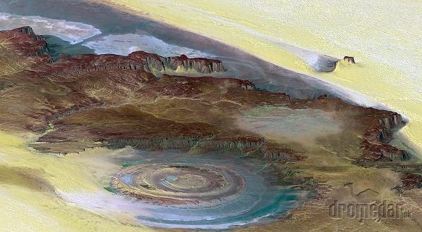 Eye of the Sahara,
