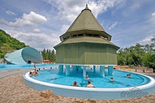 kúpele Miskolc-Tapolca, Maďarsko