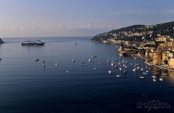 Azúrové pobrežie, Francúzsko
