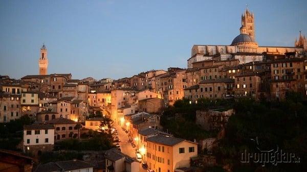 Siena, Toskánsko, Taliansko