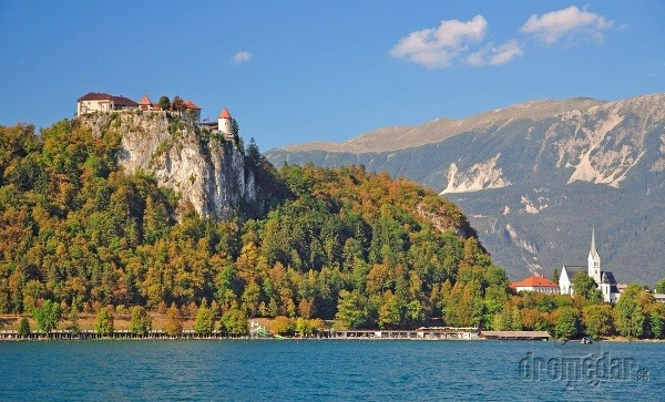Bledský hrad, Slovinsko
