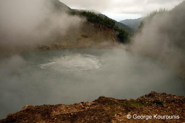 Boiling Lake, jazero, v