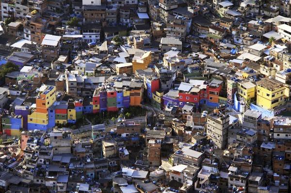 Favela, Rio de Janeiro,