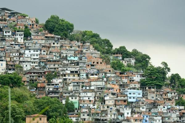 Favelas, Rio de Janeiro,