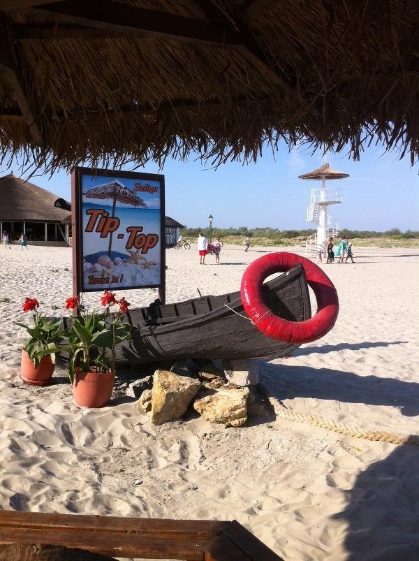 Pláž v Suline, Delta