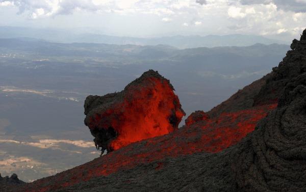 Sopka Pacaya, Guatemala