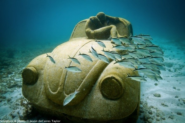 Múzeum podmorského umenia, Cancun,
