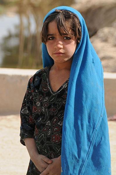 Afganské dievča