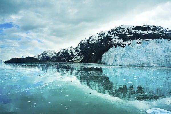 Ľadovce na Aljaške, USA