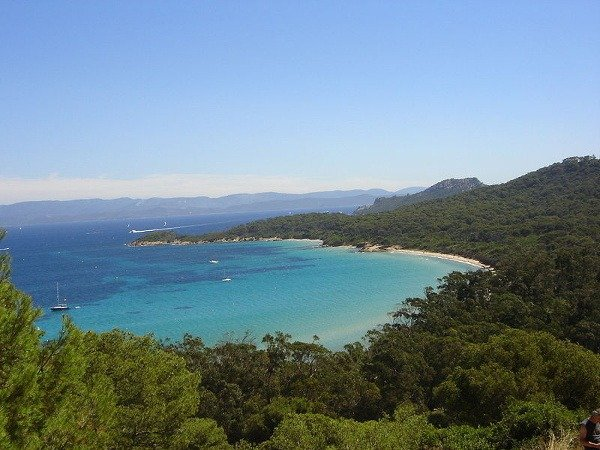 Ostrov Porquerolles, Francúzska riviéra,