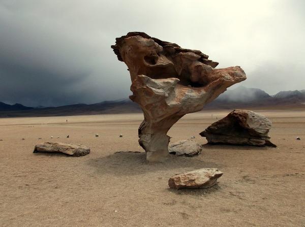 Árbol de Piedra, Bolívia