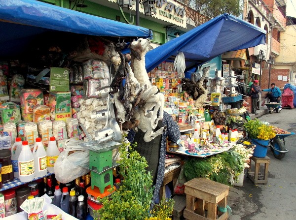 Obchodíky, Bolívia