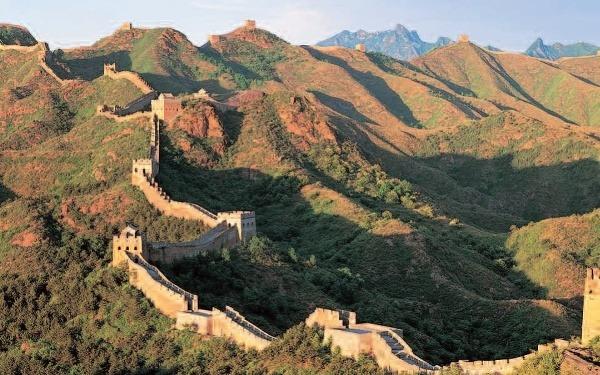 Veľký čínsky múr je