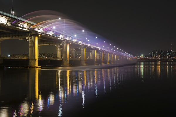 Most Banpo, Soul, Južná